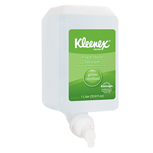 Kleenex Foam Green Seal Sanitizer